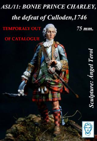 ASL/13 : Bonnie Prince Charlie, the defeat of Culloden, 1746